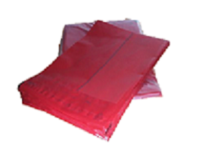 Red 170 x 230mm 500 Bags